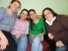 Junto a sus compañeras las docentes Paula , Tatiana y Cyntia