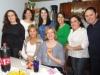 Felices posan para la foto, Rita ,Giovana,Marí Eugenia,Tatiana,Cyntia y Natalia.  Abj,Lacyr y Dahiana