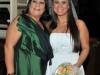 Thieli com a avó Zelma Rosa Rodrigues