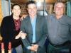 Heber com os pais Elza e Laudelino