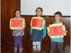 Alunos Kayane Duarte, Letícia Padilha e Raphael Maiato