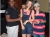 Alunos do Grupo de Teatro, Bruno, Thiely e André Luiz