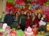 Tio Felipe, vó Ramona, Rodrigo, Cyanne, Lisiane, tia Patrícia e Chiara
