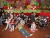 Chiara com seus amiguinhos
