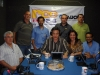 Sérgio Souza Santos, Cláudio brito, Janete Badra, Duda Pinto. Em pé: Édis Elgarte, Marcelo Pinto, Kamal Badra e Marcelo Vergara