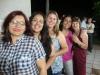 Camila, Cláudia, Fernanda, Núbia e Marilei