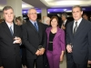 Rubinei Fernandes, Leopoldo Dutra e esposa, Laércio Bandeira - Foto Daniel Badra