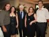 Mario Francisco, Solange, Antonio Peres, Silvia Peres e Aimoré Belmonte - Foto Daniel Badra