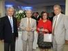 Konstantinos Galanos, Louis Abots - embaixador da Grécia em Montevideo - Dimitros Líneas e esposa - Foto Daniel Badra