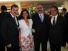 Roberto Hussen, Soeni Amestoy, Ass Said e Luis Alberto Amestoy - Foto Daniel Badra