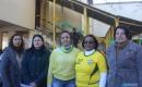 Direção da escola Olavo Bilac: Shiela Tavares, diretora; Cleres Scoti, vice diretora; Janaina Dias, supervisora; Carmen Lúcia, supervisora e Odilia Menezes, vice da tarde. Foto: MAIKO CUNHA/AP