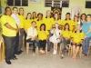 Diretoria do Lions com o casal presidente Ronei e Márcia Machado