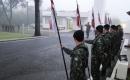 Ato realizado no Sétimo de Cavalaria. Foto: DIVULGAÇÃO