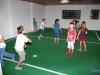 Los chicos se divirtieron al máximo jugando al fútbol
