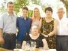 Beto, Arthur, Taiz, Elisa Caldas, Tereza e Emilio Aguiar