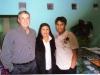 Henrique com a esposa Sandra Severo e o filho João Gabriel