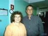 Henrique com a Dra. Ester Olsson