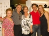 Ceci, Felipe, Tânia Fernandez e o filho Pablo com Suzani - Foto Jadir Pires