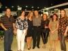 Ten. Cel. Marco Antônio Cagnoni e Marleice, Suzani e Felipe, Gisela Alvarez e a juiza Tânia da Rosa  - Foto Jadir Pires