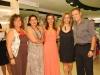 Iara Alice da Silva, Carmen Nuria, Miriam Bértiz e o casal anfitrião - Foto Jadir Pires