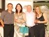 Os anfitriões da noite de inauguração com Ivone e José Righi - Foto Jadir Pires