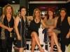 Lidia Selau, Neiva Folle, Suzani, Tânia da Rosa e Gislaine Grecellé - Foto Jadir Pires