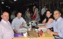 Sergio Renato de Oliveira, Marcelo Machado e ten. Diogo com a esposa