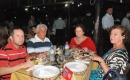 Padre Roberto Carlos e familiares do comandante sucessor