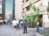 Público concentrou-se desde as primeiras horas da manhã no pátio do Fórum
