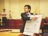Filipe Góes atuou na defesa do acusado Edson Reina