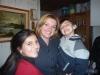 Mamá Dahiana disfruta del día con sus hijos Valentina y Maurito