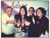 Edson e Natalia com os pais da noiva, Carlos e Zenir