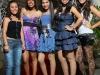 As amigas Suélem, Alice, Dandara, Miriam e Nália - Foto Mega Eventos