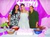 Ingrid com a mãe Judite Torres e a avó Lody Torres