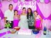 Carlos, Lody, Ingrid, Judite e Talita da Rosa