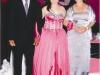 Os orgulhosos pais Rubens César e Maria do Carmo