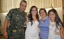 Tenente-coronel Rizzo Ribeiro, Claudia, Glaucia Pereira Costa e Maria Eduarda