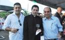 Carlos Henrique Civeira, padre Filipe e Bannura