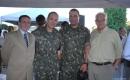 Luis Claudio Andrade, oficial Borowski, tenente-coronel Rizzo Ribeiro e Luigi Rodrigues