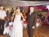 Ermínia chegando na festa com o tio Jorge Luis Canabarro