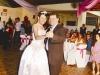 Dançando a valsa com o padrinho vereador Nelmo Oliveira