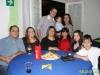 Bruno, tios Nilson e Paola, Nara , Fernanda, Eduarda e Diego