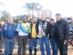 Na foto à direita, Paulo Cesar Barbosa,  Ademir Gonçalves, Sandro Vargas, Paulo Estradeiro, Eduardo Fontoura e Rudi Vargas, integrantes da comissão organizadora